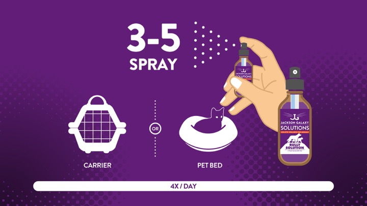 Jackson Galaxy Solutions - Spray Directions